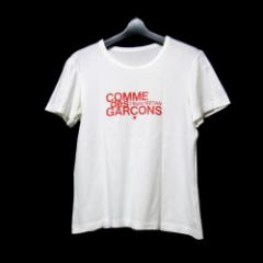 COMME des GARCONS コムデギャルソン 伊勢丹百貨店 110周年限定Tロゴシャツ (半袖 白) 098437