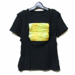 20471120 トゥーオーフォーセブンワンワントゥーオー「M」サイバーデザインTシャツ (半袖 黒) 098850