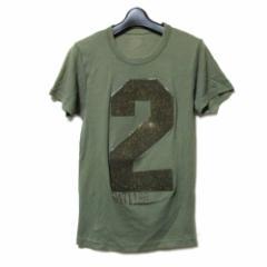 20471121 トゥーオーフォーセブンワンワントゥーオー「M」ナンバリングTシャツ (半袖 ) 098851