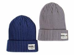 美品 BROOKLYN LIFE AND STYLE ブルックリン ライフアンドスタイル ニットキャップ 2個セット (帽子 ニット帽 ビーニー) 098976