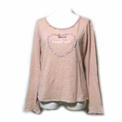 Vintage old KANEKO ISAO ヴィンテージ オールド カネコイサオ フリルカットソー (PINK HOUSE ピンクハウス 長袖 Tシャツ) 099176