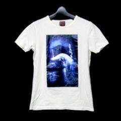 難有 [SALE] Jean Paul GAULTIER  ジャンポールゴルチエ「40」ネオンフォトTシャツ (ゴルチェ 半袖 白) 099213