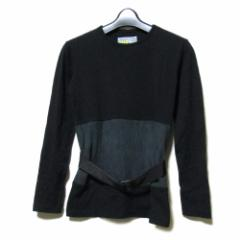 W&LT ダブルアンドエルティー「M」イタリア製 ベルト付きTシャツ (ロンTシャツ WandLT ウォルター ヴァン ベイレンドンク) 099725