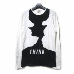 W&LT ダブルアンドエルティー「M」イタリア製 THINKTシャツ (ロンTシャツ WandLT ウォルター ヴァン ベイレンドンク) 099730【中古】