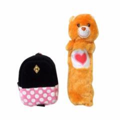 Disney・Care Bears ディズニー・ケアベア モバイルケース・ペンケース セット (テディベア ファー ミッキーマウス) 099945