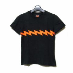 W&LT ダブルアンドエルティー「S」サンダーTシャツ (黒 半袖 WandLT ウォルター ヴァン ベイレンドンク ) 099999