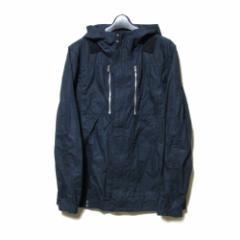 美品 uu uniqlo×undercover アンダーカバー ユニクロ「M」限定 フード付コンバットジャケット (黒 ミリタリー) 100046