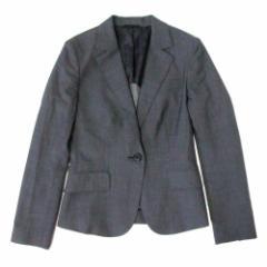 美品 THE SUIT COMPANY ザスーツカンパニー 定番 1Bジャケット (グレー ) 100645