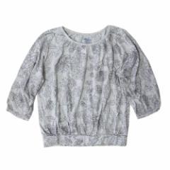 美品 OLD NAVY オールドネイビー ドルマンドレープカットソー (グレー Tシャツ) 100965