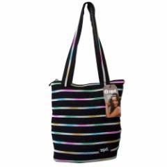 【新品】 zipit ジップイット ファスナートートバッグ (黒 鞄 イスラエル) 101101