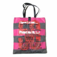美品 廃盤 Vivienne Westwood ヴィヴィアンウエストウッド 56 トートバッグ (ボーダー 鞄) 101695