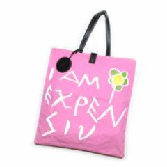 美品 廃盤 Vivienne Westwood ヴィヴィアンウエストウッド I AM EXPENSIV トートバッグ (ピンク 鞄 レザーチャーム付) 102488【中古】