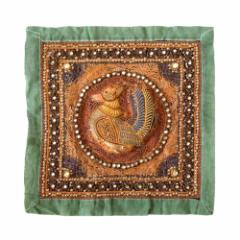 African traditional crafts アフリカ伝統工芸 刺繍タペストリー (絵画 布) 102588