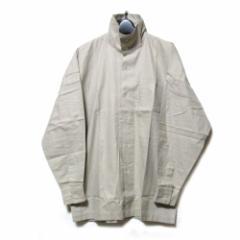 Vintage ISSEY MIYAKE MEN イッセイミヤケ メン「M」マオカラーワイドデザインシャツ (ベージュ 80年代ヴィンテージ) 102617