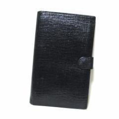廃盤 Jean Paul GAULTIER  ジャンポールゴルチエ  レザーワイドロングウォレット・パスポートケース (ゴルチェ 黒 長財布 革 皮) 102698
