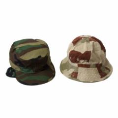美品 USA military 米軍 米軍BDUハット.ワークキャップ 2点セット (ミリタリー アーミー 帽子 USA 迷彩) 102849