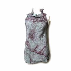 美品 Jean Paul GAULTIER FEMME ジャンポールゴルチエ ファム「40」サイバーフリルカットソー (ゴルチエ フェム Tシャツ) 103268