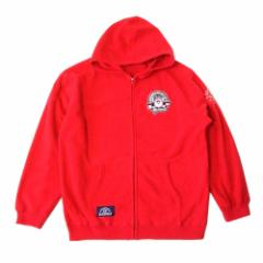 SW SANTAWORLD サンタワールド「2L」フルジップフリースパーカー (赤 ブルゾン ジャケット) 103367