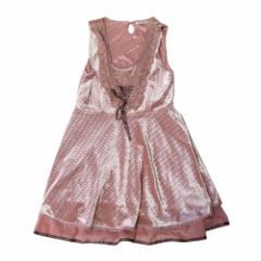 美品 axes femme アクシーズファム プリンセスワンピース ヘッドドレス付 (ピンク ドレス カチューシャ付き) 103653