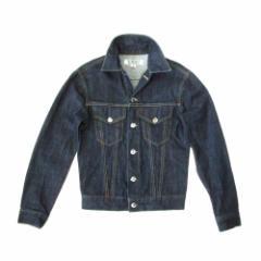 美品 COUNTER ACTION カウンターアクション「S」デニムGジャン (ジャケット インディゴ ブルー パンク) 104030