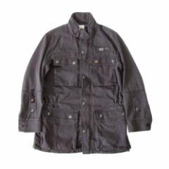 DIESEL ディーゼル「S」コンバットジャケット (グレー ミリタリー) 104121