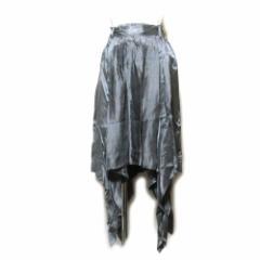 【新品】 Anglomania Vivienne Westwood ヴィヴィアンウエストウッド「42」イタリア製 変形ドレープデザインスカート 104321