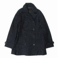 PHILLKINGTON  フィルキングトン  トレンチピーコート (紺 ネイビー Pコート ジャケット ブルゾン) 104542