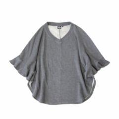 美品 UNIQLO×DOUBLE STANDARD CLOTHING ユニクロ×ダブルスタンダードクロージング ドルマンスエットトレーナー (グレー マント) 105232