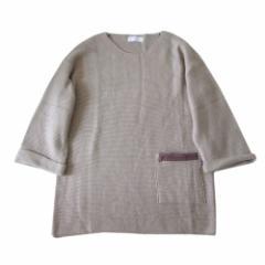 KAWAI OKADA カワイオカダ ワイドシルエットニットワンピース (岡田可愛) 105648