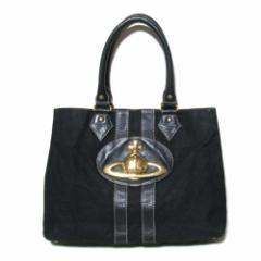 廃盤 Vivienne Westwood ヴィヴィアンウエストウッド ゴールドジャイアントオーブトートバッグ (黒 ORB 鞄) 107156
