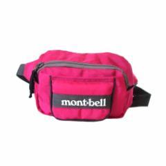 難有 [SALE] mont-bell モンベル ウエストポーチ コインケース付 (バッグ 鞄 財布 小銭入れ ウォーキング) 108836