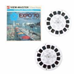Vintage EXPO70 大阪万博 日本万国博覧会 ビユーマスター ジェネラルツアー2 108848