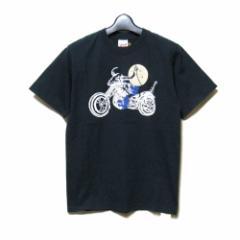 20471120 トゥーオーフォーセブンワンワントゥーオー「S」バイカーヒョーマTシャツ (トライベンティー HYOMA 黒 半袖) 109631