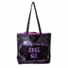 美品 ANNA SUI アナスイ 刺繍トートバッグ 109997