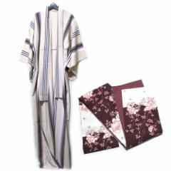 美品 TSUMORI CHISATO ツモリチサト ジャポネスクデザイン着物 帯付き (日本伝統 KIMONO JAPAN) 110159