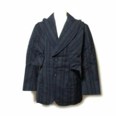 Masaki Matsushima マサキマツシマ 「2」ワイヤーカラージャケット (剣襟 デザイン ユニセックス) 110168