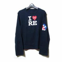20471120 トゥーオーフォーセブンワンワントゥーオー I LOVE リサイクルTシャツ (トライベンティ 半袖 Tシャツ) 110257