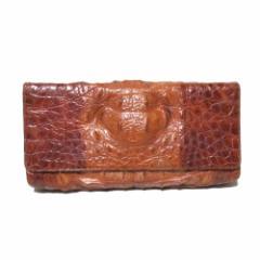 Crocodile leather クロコダイルレザー リアルレザーセカンドバッグ (皮 革 エキゾチック ワニ) 110309
