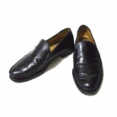 REGAL リーガル 定番レザーローファー (黒 皮 革 靴 ) 110678