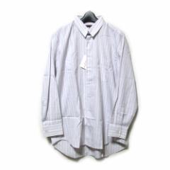 【新品】 COMME des GARCONS HOMME DEUX コムデギャルソン オム ドゥ「M」ピンストライプシャツ (カッターシャツ) 111040