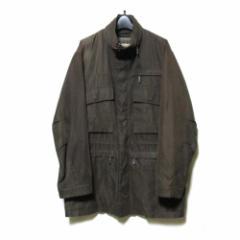 Paul Stuart ポールスチュアート「L」M-65ミリタリージャケット (茶色 ブルゾン コート) 111091
