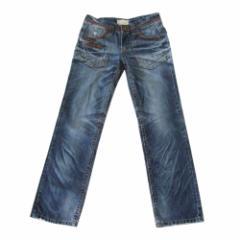 Lolita jeans ロリータジーンズ 加工デニムパンツ (インディゴ ヴィンテージ) 111490