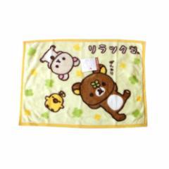 【新品】 Rilakuma リラックマ 大判ひざかけ.ブランケット (大判 ワイド ショール マフラー 毛布) 112216