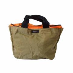 SAZABY サザビー ナイロントートバッグ (カーキ 鞄 ) 112228