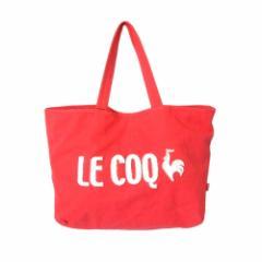 le coq sportif  ルコックスポルティフ キャンバスロゴトートバッグ (ピンク) 112231