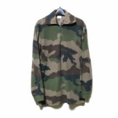 Spanish Military  スペイン軍 カモフラージュフリースプルオーバーカットソー (カーキ アーミー コンバット 実物 Tシャツ) 113199