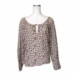 美品 JILL STUART  ジルスチュアート フラワーキルトカットソー (Tシャツ 花柄) 113223