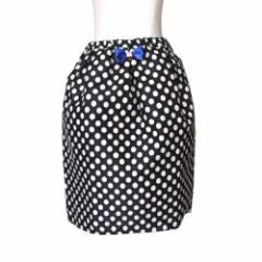 【新品】 UNICA ユニカ バルーンドットスカート (黒 水玉 ) 113238