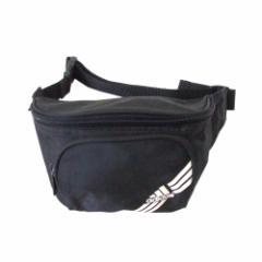 adidas アディダス ベルトウエストポーチ (バッグ ロゴ 黒 鞄) 113549
