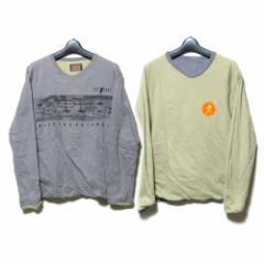 W&LT  ダブルアンドエルティー イタリア製 リバーシブルロングTシャツ 113796【中古】